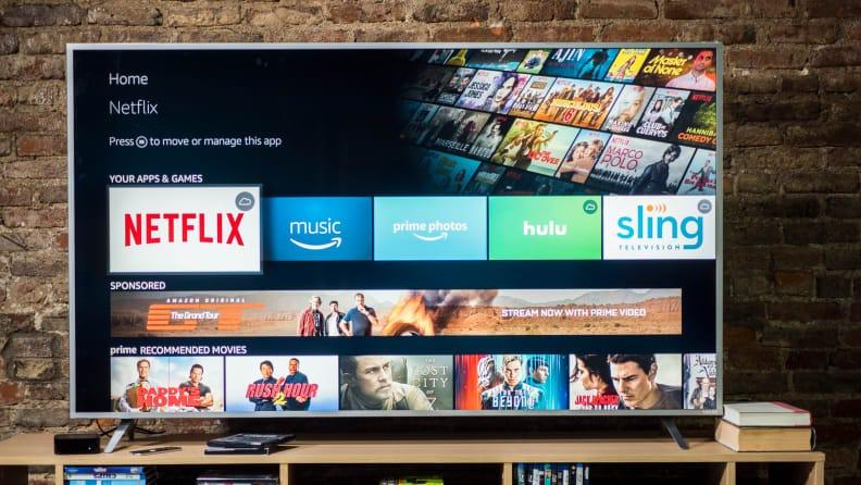 Many of these TVs feature the Amazon Fire TV interface.