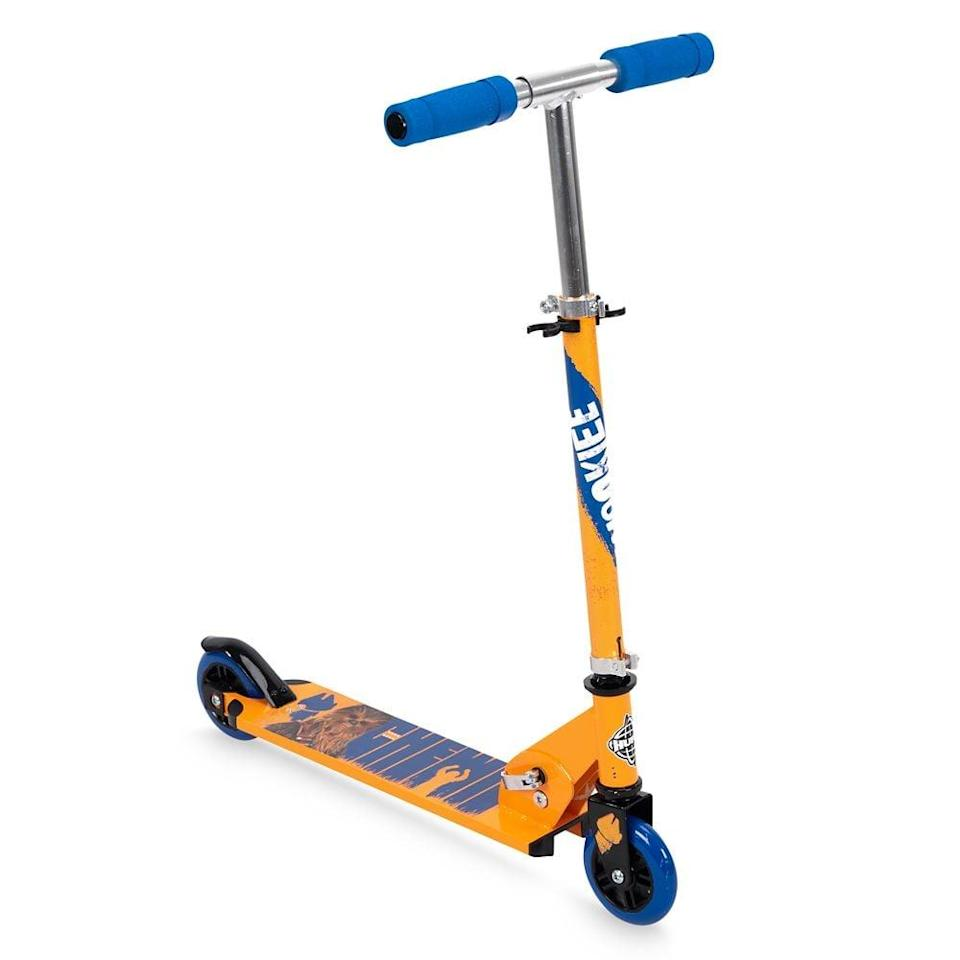 <p>This <span>Huffy Chewbacca Scooter</span> ($50) is such a fun gift they'll want to use all the time. Summer days outside call for this gift.</p>