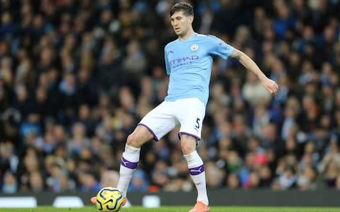 <span>John Stones starts against United</span> <span>Credit: Getty Images </span>
