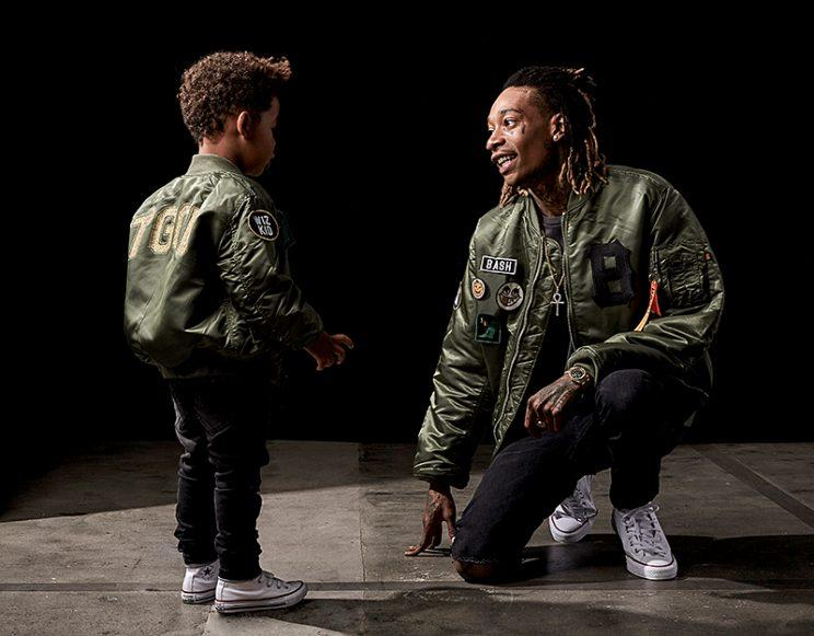 Wiz Khalifa on Son Sebastian's Style: 'Daddy Dresses Him ...