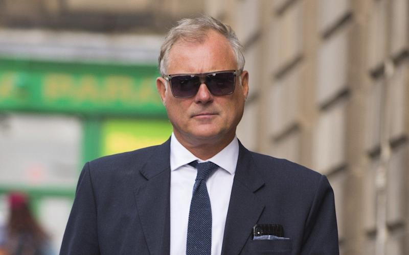 Former Blue Peter presenter John Leslie attends Edinburgh's Sherrif Court to face sexual assault charges - WENN