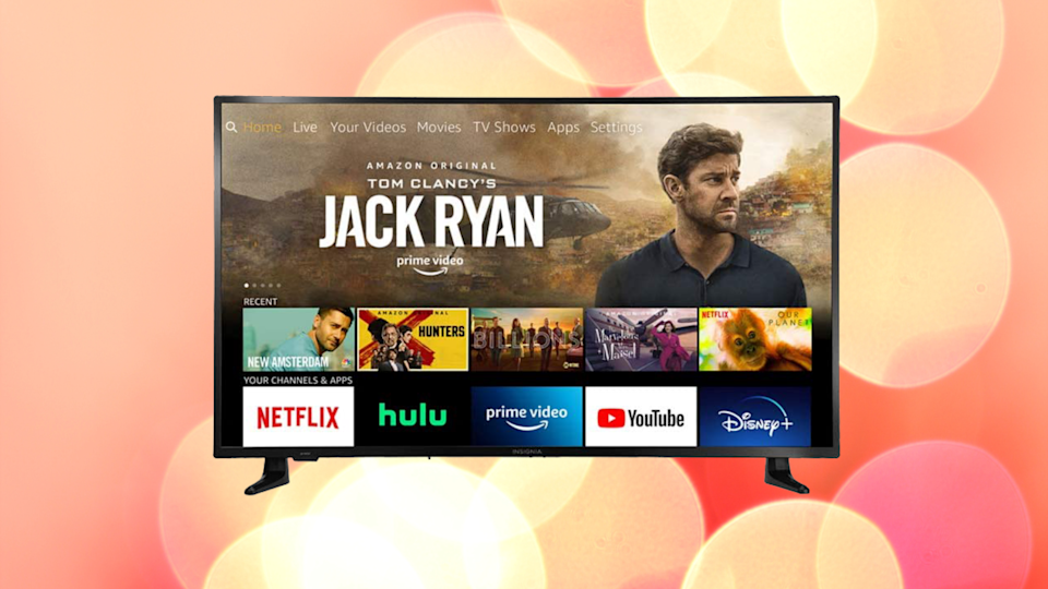 Insignia 43-inch Smart 4k Ultra HD TV—Fire TV Edition. (Photo: Amazon)