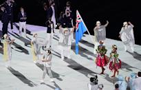 <p>The tiny delegation from Tuvalu showed out for the opening ceremony! </p>