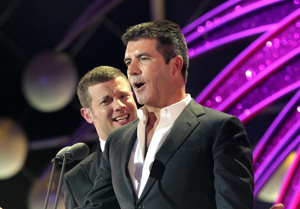Dermot O'Leary revealed he went to confront Simon Cowell about feeling sidelined. (PA)