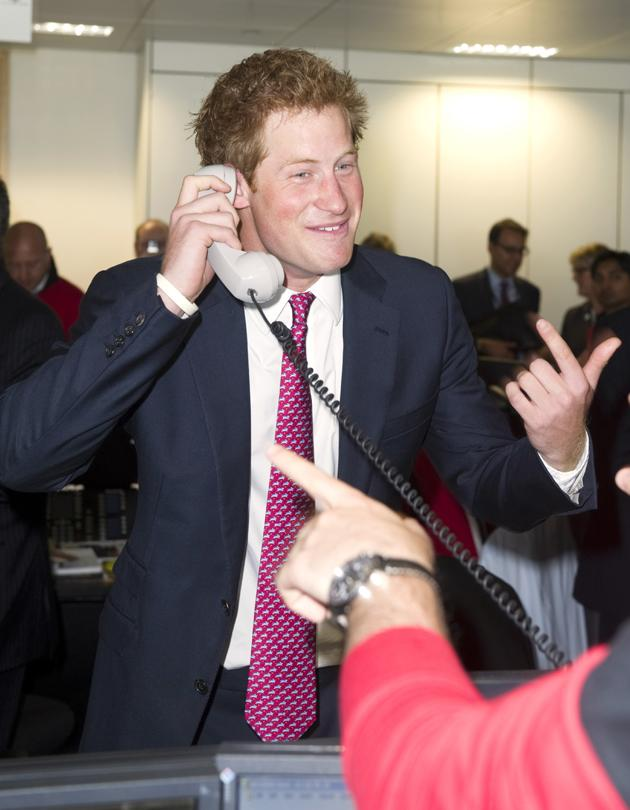 Prince Harry took part in a charity fundraiser in which he closed a foreign exchange deal worth £15.5 billion. Not bad!