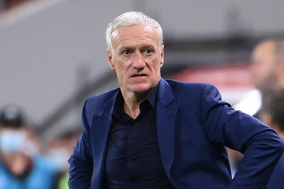 Didier Deschamps will face questions over his France future after their early Euros exit (POOL/AFP via Getty Images)