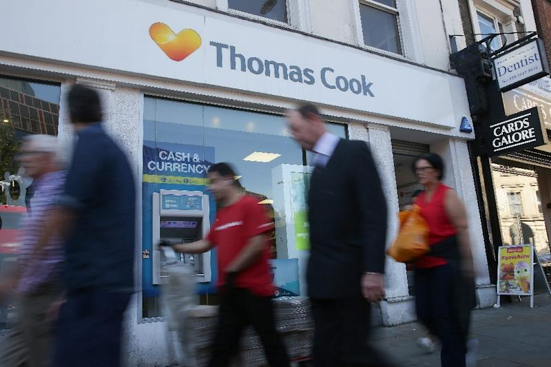 Thomas Cook's losses widened in the first half, partly due to Brexit uncertainty
