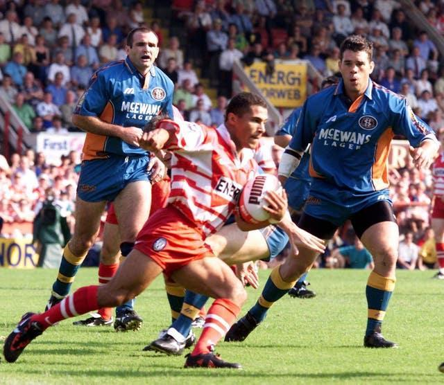 Rugby League/Wigan v St Helens