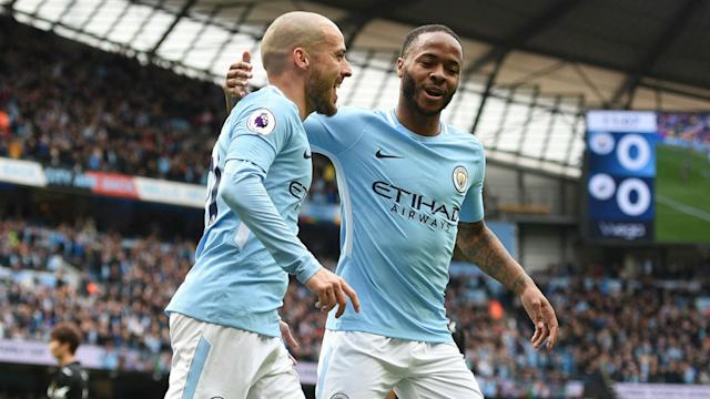 Pep Guardiola's side once again showed why they're the league's runaway winners, putting five goals past Swansea City on Sunday