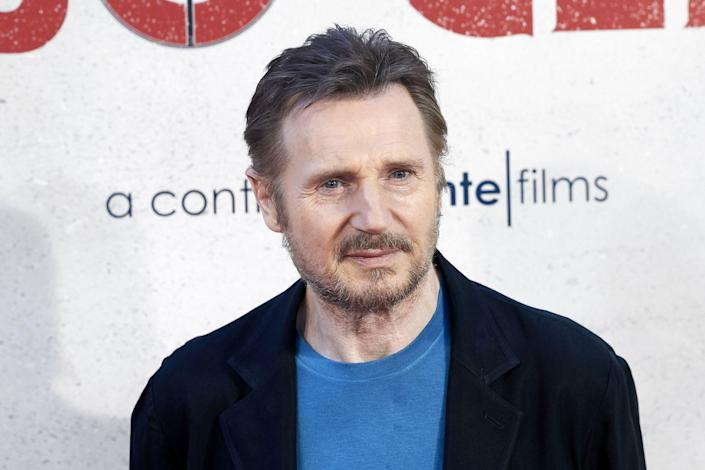 """<p>Now: Neeson is known for roles in <a href=""""https://www.imdb.com/title/tt0936501/?ref_=ttls_li_tt"""" rel=""""nofollow noopener"""" target=""""_blank"""" data-ylk=""""slk:the Taken franchise"""" class=""""link rapid-noclick-resp"""">the Taken franchise</a> and <a href=""""https://www.imdb.com/title/tt0108052/?ref_=ttls_li_tt"""" rel=""""nofollow noopener"""" target=""""_blank"""" data-ylk=""""slk:Schindler's List"""" class=""""link rapid-noclick-resp"""">Schindler's List</a>. He has an estimated <a href=""""https://www.celebritynetworth.com/richest-celebrities/actors/liam-neeson-net-worth/"""" rel=""""nofollow noopener"""" target=""""_blank"""" data-ylk=""""slk:net worth of $85 million"""" class=""""link rapid-noclick-resp"""">net worth of $85 million</a> and a series of top award nominations to further prove his acting skill.</p>"""