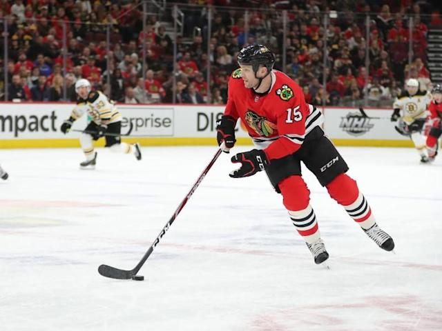 NHL: Boston Bruins at Chicago Blackhawks