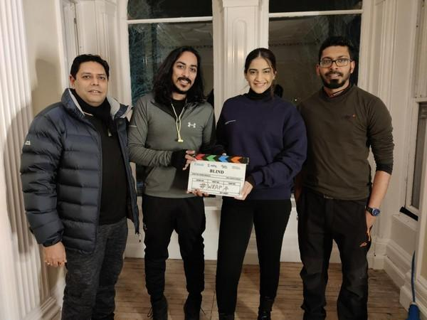Sonam Kapoor concludes shoot for Blind in Scotland (Image courtesy: Twitter)
