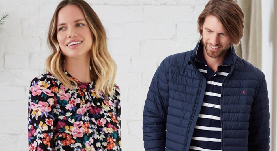 Joules has launched a huge sale with 50% off thousands of items - plus there's an additional discount available for a limited time. (Joules/ Yahoo Style UK)