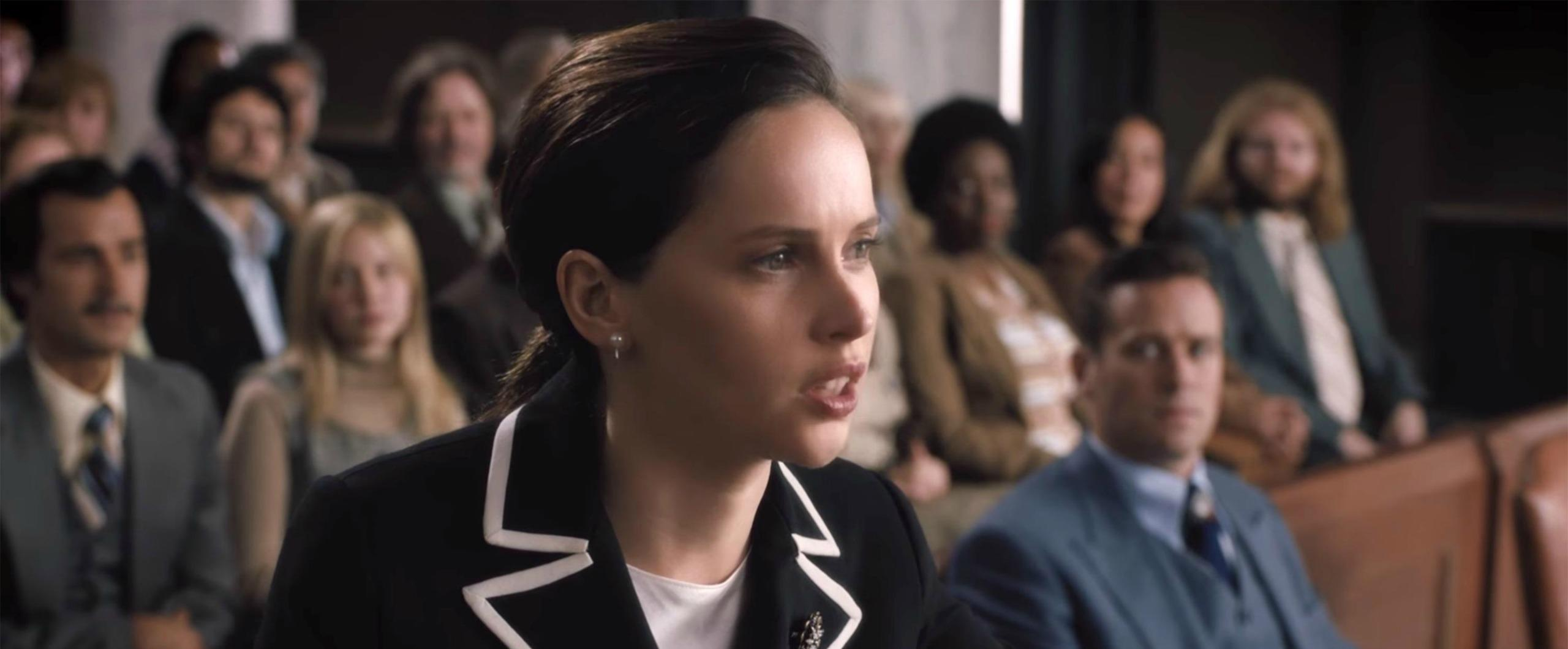 Felicity Jones, who played Ruth Bader Ginsburg in biopic, explains why Supreme Court Justice was a modern-day superhero