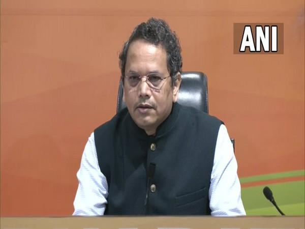 BJP Foreign Affairs Department In-Charge, Dr Vijay Chauthaiwale (Photo/ANI)