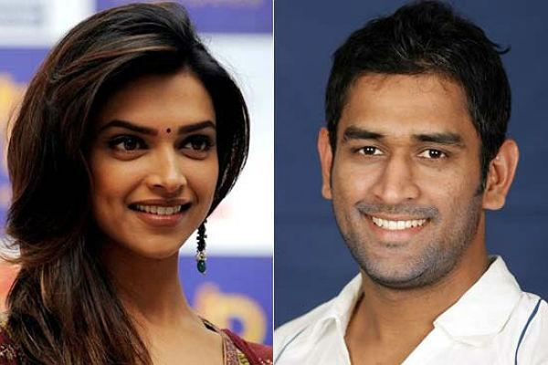 <b>5. M.s. Dhoni and Deepika Padukone</b><br><br>The super successful cricket captain reportedly had a huge crush on the dimpled actress post her Bollywood debut. The media got enough fodder for gossip after Dhoni invited Deepika for a T20 match against Australia. Deepika's presence at the match got the rumor mills buzzing about the couple's relationship status.