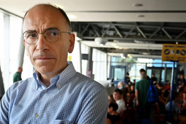 "Former centre-left premier Enrico Letta warned that Salvini ""has no principles"""