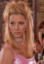 <p>Let us be clear: Everything about Lisa Kudrow here is perfect. But shoutout to her drastically underrated makeup. The coordinated pink eyeshadow and dress are a masterpiece.</p>