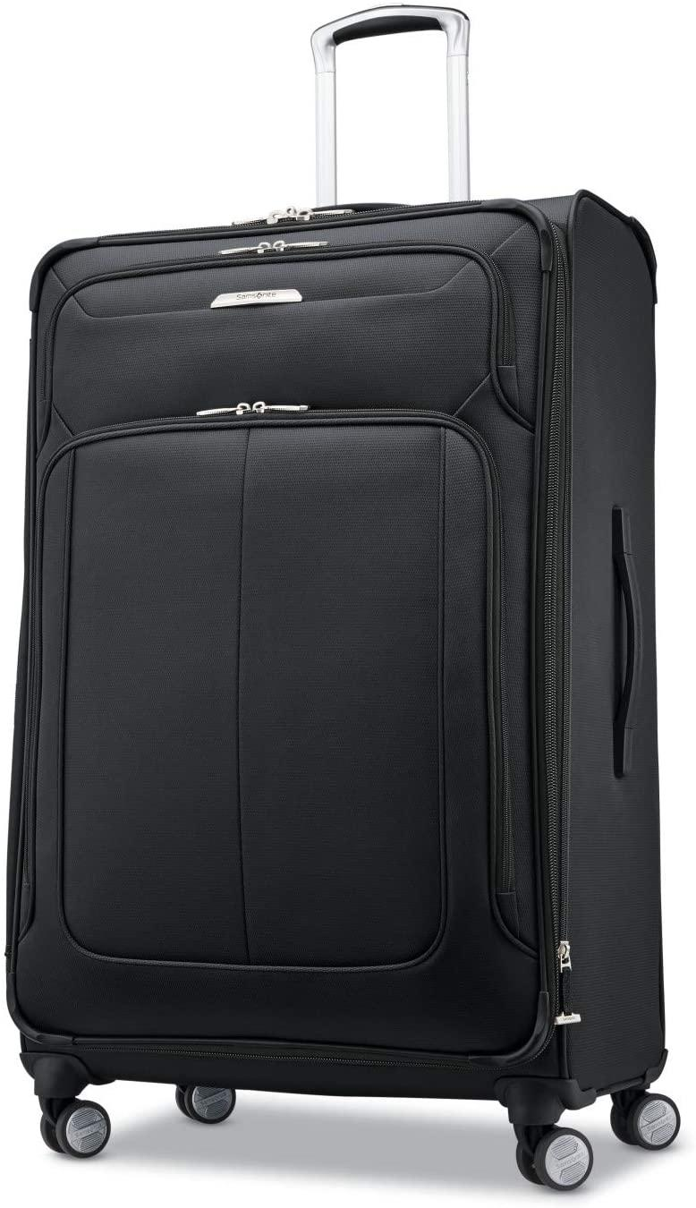 """<br><br><strong>Samsonite</strong> Solyte DLX Softside Expandable Luggage, $, available at <a href=""""https://amzn.to/3jd1hB2"""" rel=""""nofollow noopener"""" target=""""_blank"""" data-ylk=""""slk:Amazon"""" class=""""link rapid-noclick-resp"""">Amazon</a>"""