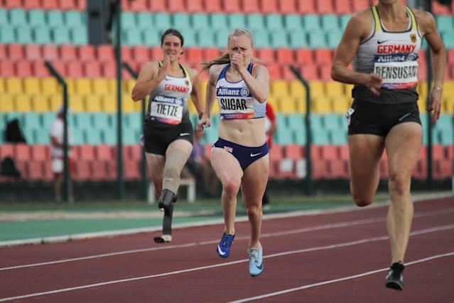 Sugar secured her second bronze medal at this, the 2018 WPA European Championships. Pic: Ben Booth Photography