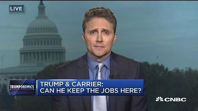 Jim Pethokoukis, American Enterprise Institute, and CNBC's Mike Santoli discuss just how effective President-elect Donald Trump will be at fulfilling his promise to bring more manufacturing jobs back to the U.S.