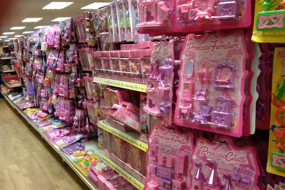 The pink aisle