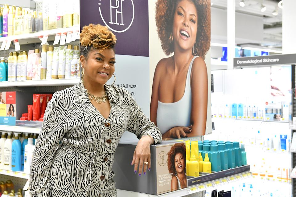 Henson is launching TPH by TARAJI. (Photo: Craig Barritt/Getty Images for Target)