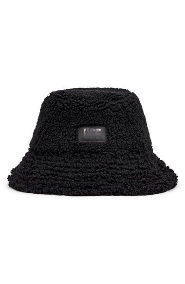 <p>Meet your new winter BFF: this classic <span>UGG Faux Fur Bucket Hat</span> ($65).</p>