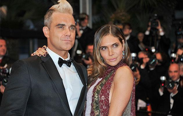 Robbie is married to Ayda Field and has two kids, Theodora Rose, 4, and Charlton Valentine, 1. Photo: Getty Images