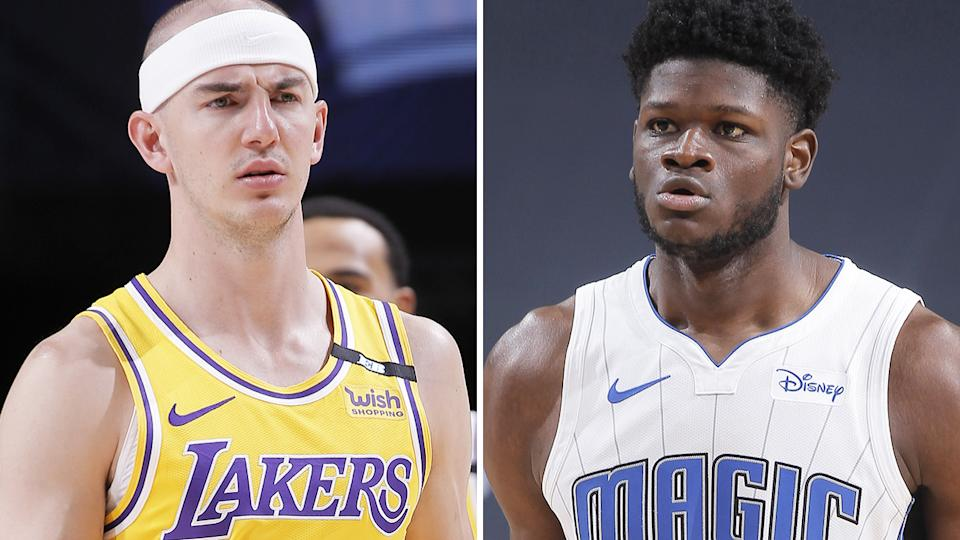 Alex Caruso and Mo Bamba are available in most Yahoo leagues, and could be crucial pickups in your grand final matchups. Pictures: Getty Images