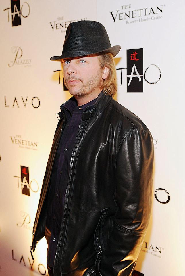 "David Spade arrived at LAVO nightclub in Las Vegas solo. Did the serial dater already move on from Nicollette Sheridan? Denise Truscello/<a href=""http://www.wireimage.com"" target=""new"">WireImage.com</a> - December 31, 2008"