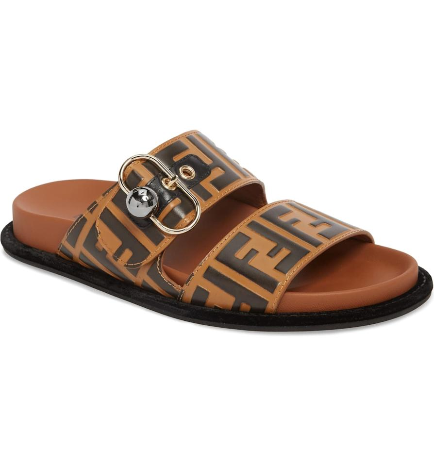 """<p>These luxe <a href=""""https://www.popsugar.com/buy/Fendi-Pearland-Logo-Slide-Sandals-526838?p_name=Fendi%20Pearland%20Logo%20Slide%20Sandals&retailer=shop.nordstrom.com&pid=526838&price=690&evar1=fab%3Aus&evar9=46975489&evar98=https%3A%2F%2Fwww.popsugar.com%2Ffashion%2Fphoto-gallery%2F46975489%2Fimage%2F46975497%2FFendi-Pearland-Logo-Slide-Sandal&list1=shopping%2Cgifts%2Cnordstrom%2Cgift%20guide%2Cgifts%20for%20women%2Ceuphoria%2Cbarbie%20ferreira&prop13=mobile&pdata=1"""" rel=""""nofollow"""" data-shoppable-link=""""1"""" target=""""_blank"""" class=""""ga-track"""" data-ga-category=""""Related"""" data-ga-label=""""https://shop.nordstrom.com/s/fendi-pearland-logo-slide-sandal-women/4949582/full?origin=category-personalizedsort&amp;breadcrumb=Home%2FHoliday%20Gifts%2FUnique%20Gifts%20By%20People%20We%20Love&amp;color=brown"""" data-ga-action=""""In-Line Links"""">Fendi Pearland Logo Slide Sandals</a> ($690) are an elevated way to stay cozy and cute.</p>"""
