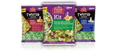 Fresh Express launches three new salad kit flavors in Canada.