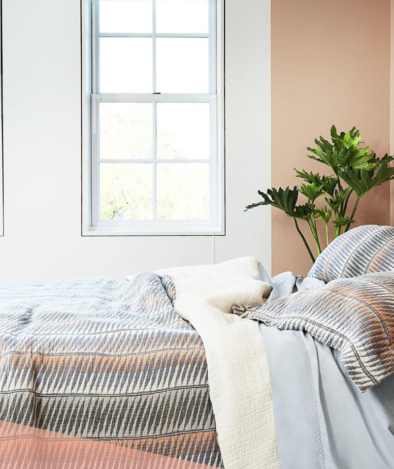 This Cult-Favorite Mattress Brand Just Dropped the Coziest Bedding for Fall—and We Have an Exclusive Discount