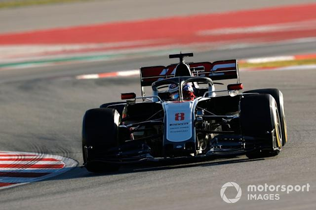 "Romain Grosjean, Haas F1 Team VF-20 <span class=""copyright"">Glenn Dunbar / Motorsport Images</span>"