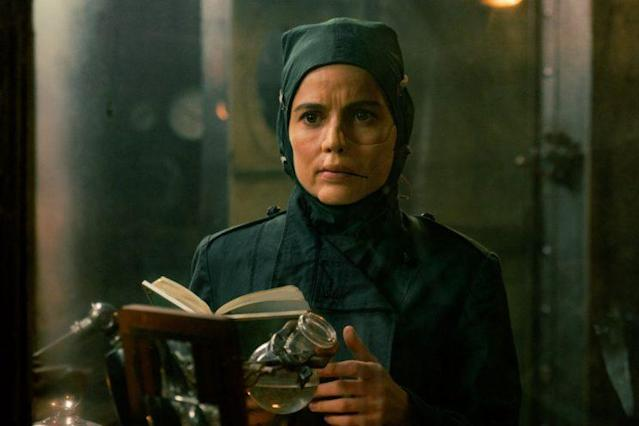 Elena Anaya as Isabel Maru/Doctor Poison in <i>Wonder Woman.</i> (Photo: Warner Bros.)