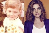 """<div class=""""caption-credit""""> Photo by: Natalia Vodianova, Imaxtree</div><div class=""""caption-title"""">Natalia Vodianova</div><br> <p> Born in Russia on February 28th, 1982. Natalia's first job was working a fruit stand with her mother at age 11. At 26, she was listed by Forbes as the 7th highest paid model in the world. </p> <br> See more: <a rel=""""nofollow noopener"""" href=""""http://nymag.com/thecut/2012/08/see-over-50-models-when-they-were-kids.html?mid=shine"""" target=""""_blank"""" data-ylk=""""slk:50 Models When They Were Kids"""" class=""""link rapid-noclick-resp"""">50 Models When They Were Kids</a> at TheCut.com <br>"""