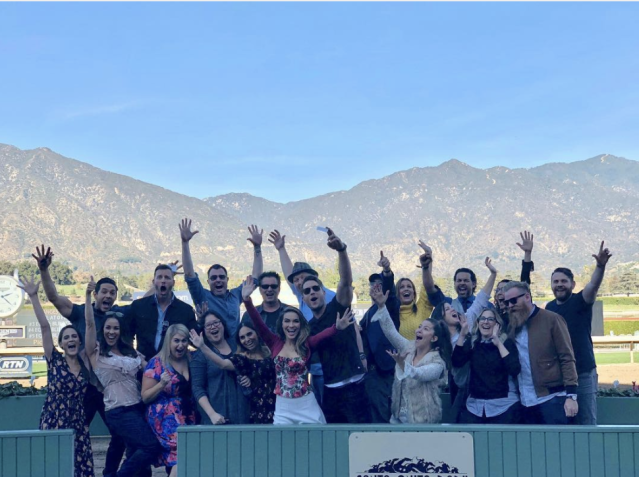 "<p>""Thank you to @santaanitapark for having all of us at the track,"" the <em>This Is Us</em> star captioned this fun group shot. The actor, who turned 41 on Monday, spent the weekend at the races. ""What a wonderful way to celebrate a birthday!!"" (Photo: <a href=""https://www.instagram.com/p/BegHbdRhPLQ/?taken-by=justinhartley"" rel=""nofollow noopener"" target=""_blank"" data-ylk=""slk:Justin Hartley via Instagram"" class=""link rapid-noclick-resp"">Justin Hartley via Instagram</a>) </p>"
