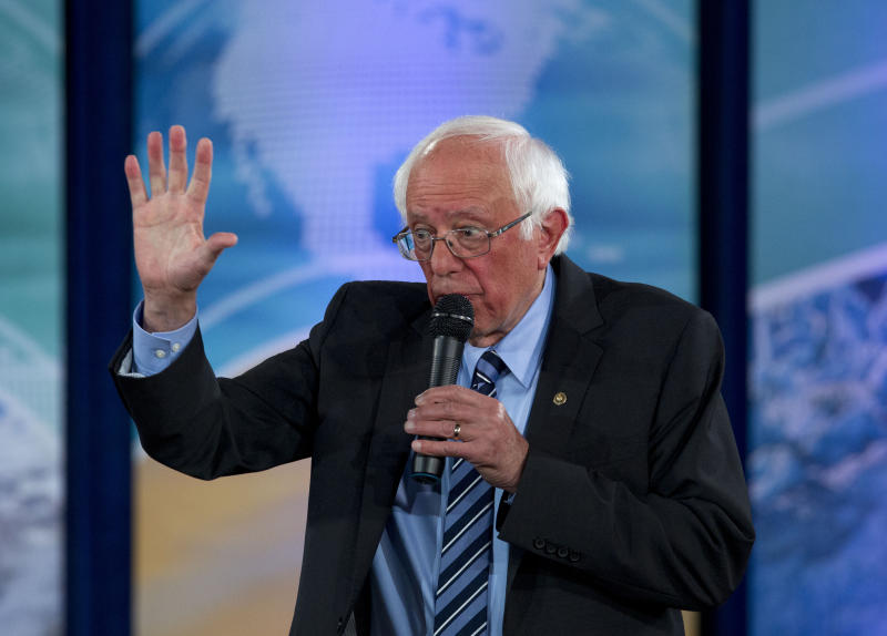 Election 2020 Bernie Sanders