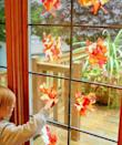 """<p>Don't do all of the decorating yourself: Enlist the kids to rip up tissue paper to make your own (temporary) stained glass windows. </p><p><em><a href=""""http://www.ehow.com/ehow-mom/blog/kid-fall-craft-beautiful-leaf-suncatchers/"""" rel=""""nofollow noopener"""" target=""""_blank"""" data-ylk=""""slk:Get the tutorial at eHow »"""" class=""""link rapid-noclick-resp"""">Get the tutorial at eHow »</a></em> </p>"""