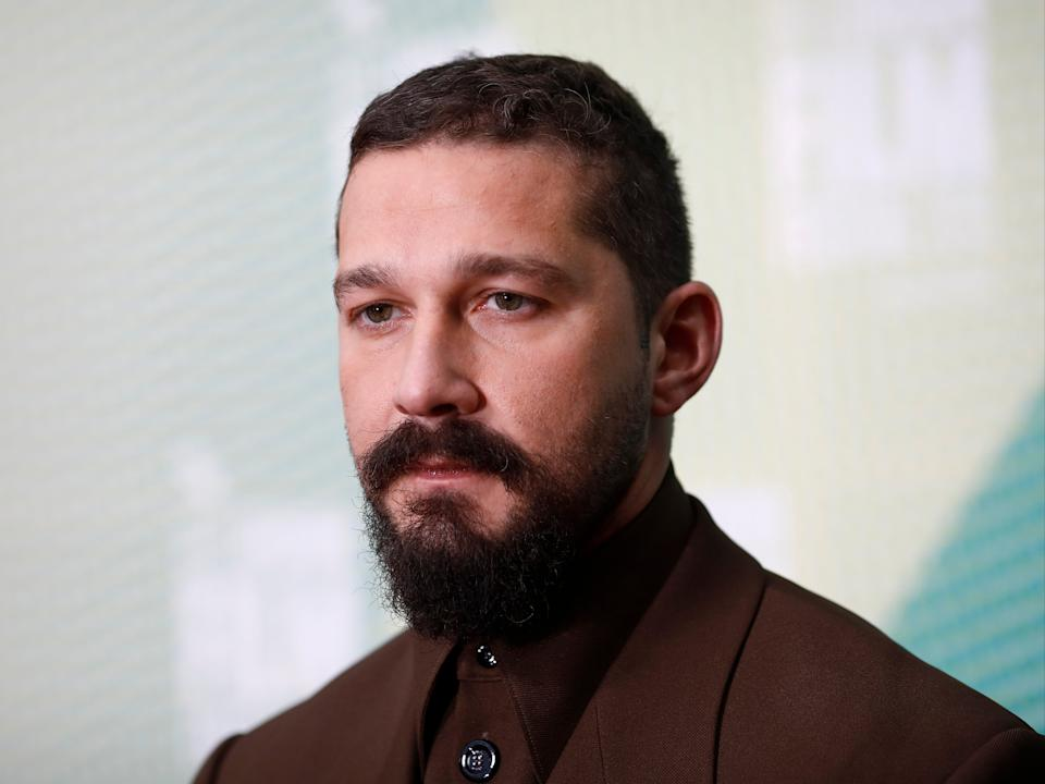 Shia LaBeouf was accused by his former partner, musician FKA twigs, of abusing her during their relationshipGetty Images for BFI