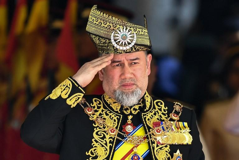 Malaysia's monarch abdicates the throne