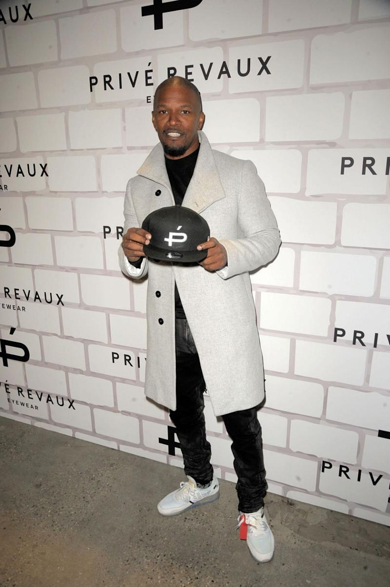 Jamie Foxx attends Prive Revaux Eyewear New York flagship launch at Prive Revaux on December 4, 2017 in New York City. Source: Getty