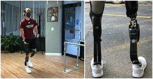 Quadruple amputee, Landis Sims (14 yrs old) was surprised by MLB legends with new Össur prosthetic running legs on behalf of Challenged Athletes Foundation and David Rotter Prosthetics.