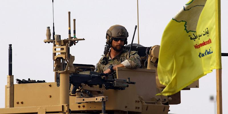 US soldier syria oil
