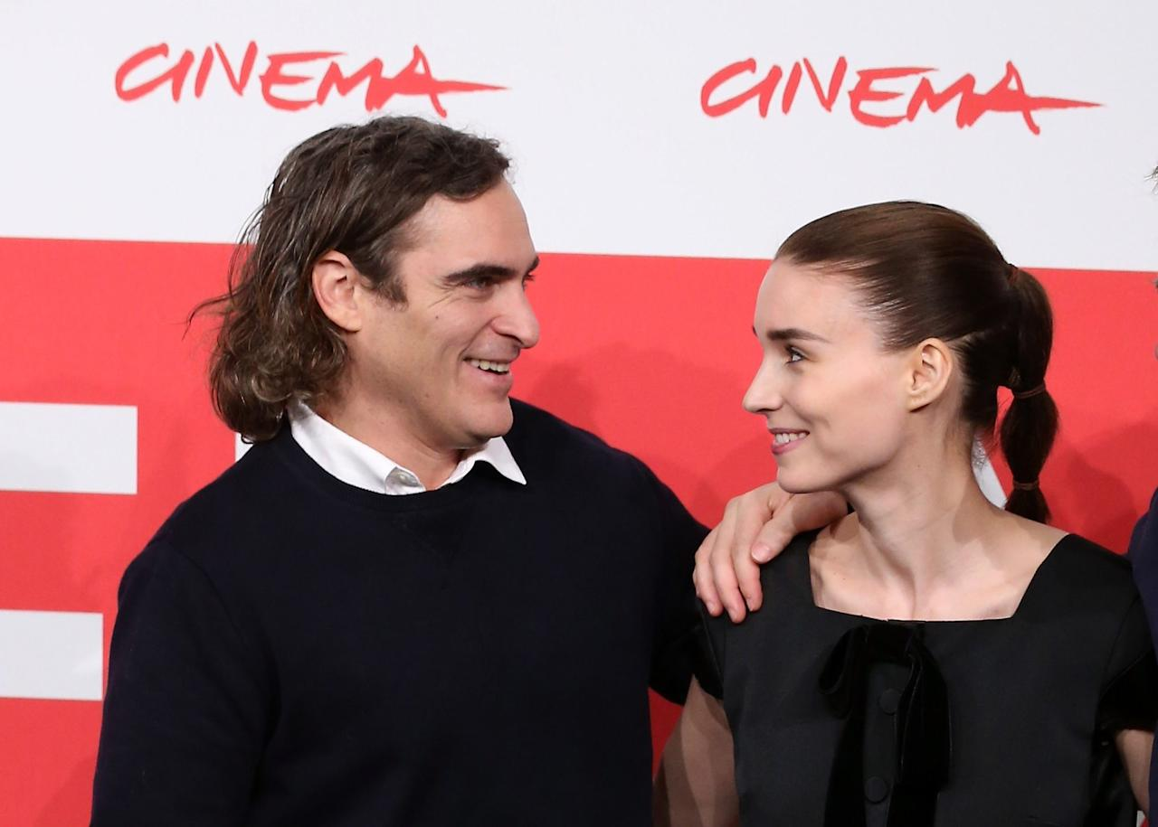 """<p>Phoenix and Mara met in 2012 on the set of <em>Her</em>, in which Mara played Phoenix's ex-wife.</p> <p>Things weren't romantic right away for the pair. In fact, Phoenix told<em>Vanity Fair</em>in 2019 that he thought Mara didn't like him at all, but it turns out she was just shy.</p> <p>""""She's the only girl I ever looked up on the internet,"""" he told the magazine. """"We were just friends, e-mail friends. I'd never done that. Never looked up a girl online.""""</p>"""