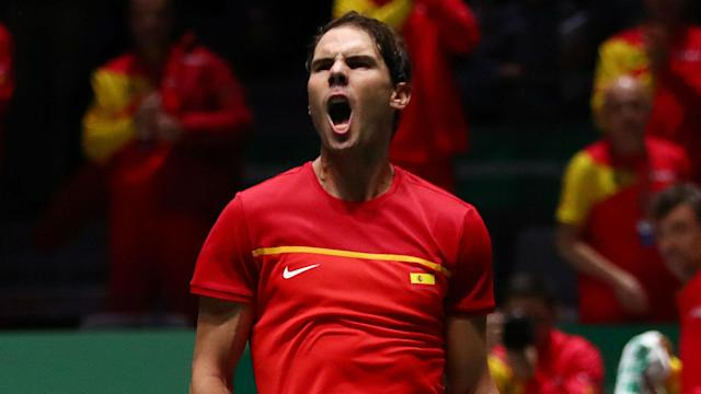 Croatia's hopes of retaining the Davis Cup are over after they were beaten by hosts Spain in Madrid.