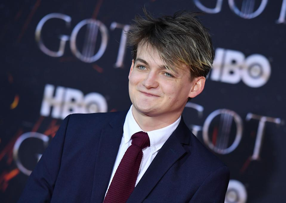 """Irish actor Jack Gleeson arrives for the """"Game of Thrones"""" eighth and final season premiere at Radio City Music Hall on April 3, 2019 in New York city. (Photo by Angela Weiss / AFP)        (Photo credit should read ANGELA WEISS/AFP via Getty Images)"""