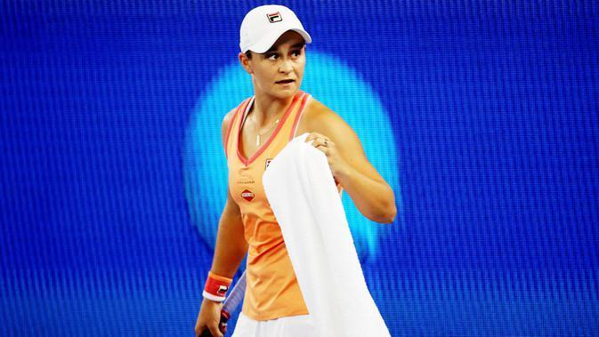 Ashleigh Barty. (Photo by David Gray / AFP)