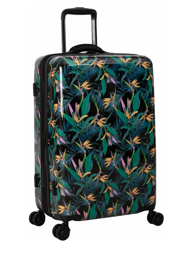 Body Glove 26'' Tropical Hardside Spinner Luggage. (Photo: Walmart)